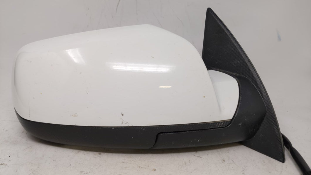 2015-2017 Gmc Terrain Passenger Right Side View Power Door Mirror Pearl 58355 - Oemusedautoparts1.com