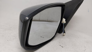 2013-2015 Nissan Sentra Driver Left Side View Power Door Mirror Green 58394 - Oemusedautoparts1.com