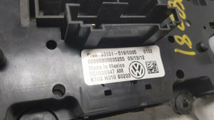 2011 2012 2013 Volkswagen Jetta Temperature Climate Control Switch R8s02b17 Stock #30597