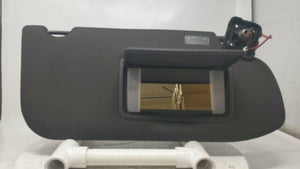 2013 Lincoln Mks Passenger Right Sun Visor Sunvisor Black R8s26b16