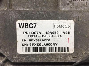 2013 Ford Fusion Engine Computer Ecu Pcm Pn:ds7a-12a650 - Oemusedautoparts1.com