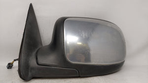 2004-2006 Gmc Sierra 3500 Driver Left Side View Power Door Mirror Chrome 63505
