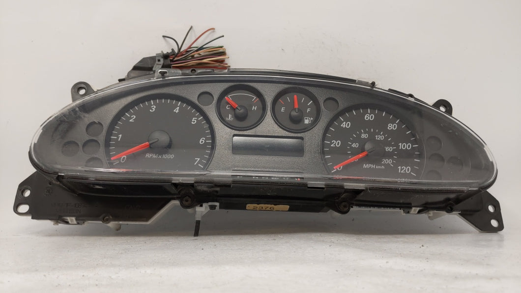 2005-2007 Ford Taurus Speedometer Instrument Cluster Gauges 4f1t-10849-am 65673