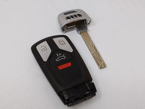 Audi Keyless Entry Remote Iyz-ak01 4m0.959.754.ba 4 Buttons Car