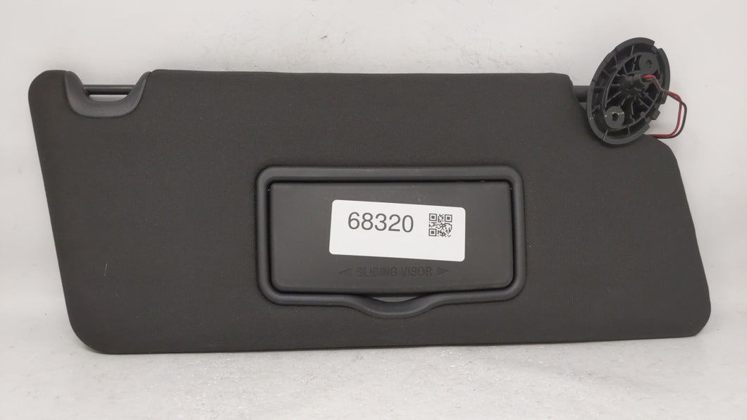 2011-2014 Ford Explorer Passenger Right Sun Visor Sunvisor Black 68320