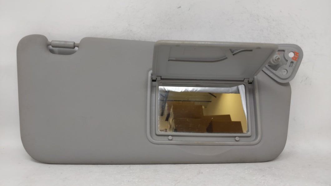2006-2011 Kia Rio Passenger Right Sun Visor Sunvisor Gray 68328