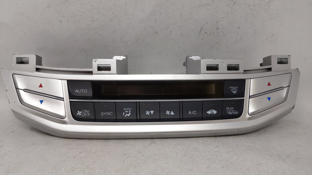 2013-2015 Honda Accord Ac Heater Climate Control Temperature Oem 68526