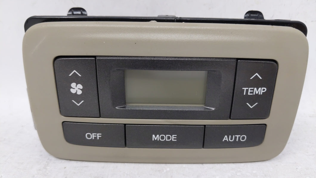 2011-2014 Toyota Sienna Ac Heater Climate Control 75d875 68580