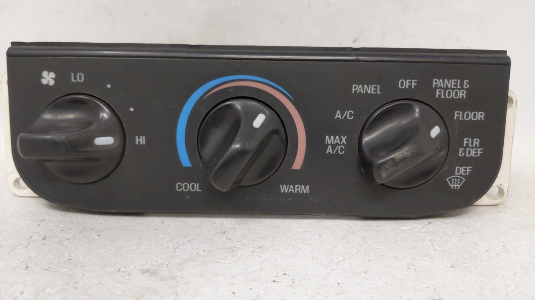 1999-2004 Ford F-150 Ac Heater Climate Control F65h-19c733-aa 68692