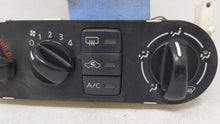 2005 Nissan Sentra Ac Heater Climate Control 68847