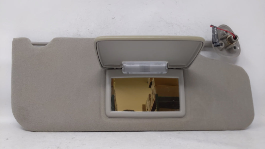 2000-2007 Ford Taurus Passenger Right Sun Visor Sunvisor Gray 70506