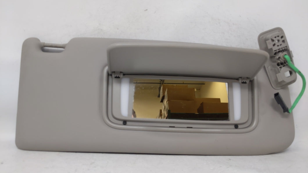 2005-2011 Volvo V50 Passenger Right Sun Visor Sunvisor Gray 70568