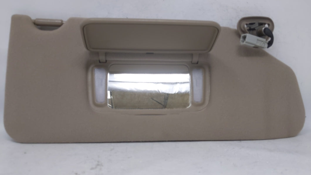1998-2002 Honda Accord Passenger Right Sun Visor Sunvisor Tan 70649