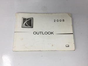 2008 Saturn Outlook Operator Owners Manual User Guide W367a - Oemusedautoparts1.com