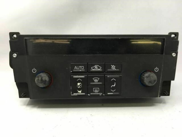 2005 2006 2007 Cadillac Sts Temperature Climate Control 10389142 W511r