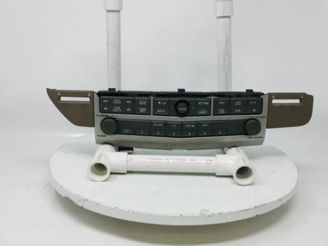 Audio Equipment Radio Control Audio Front Dash Mounted Fits 2006 Maxima W482q - Oemusedautoparts1.com