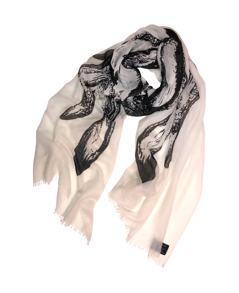 Angel Wings on Tissue Cashmere