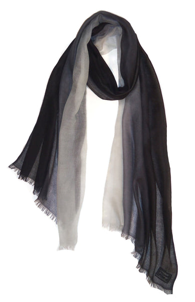 Ombre Black & Ivory