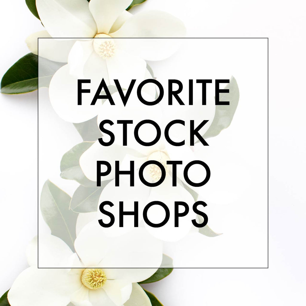 My Favorite Stock Photography Shops