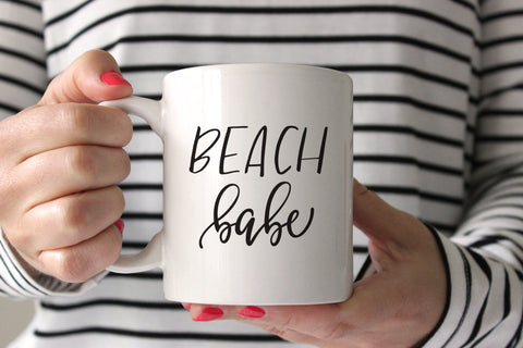 Beach Babe Coffee Mug