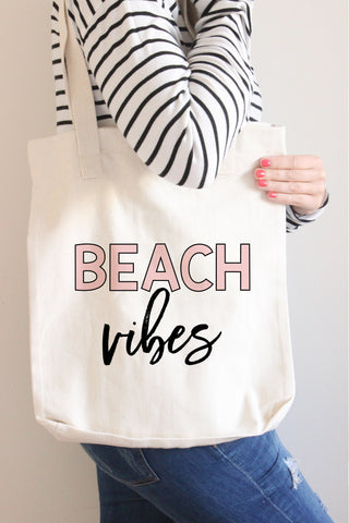 Beach Vibes Tote Bag