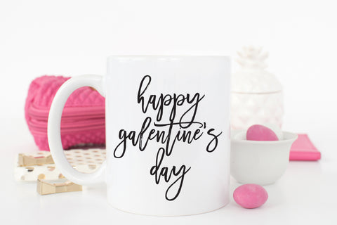 Happy Galentine's Day Coffee Mug