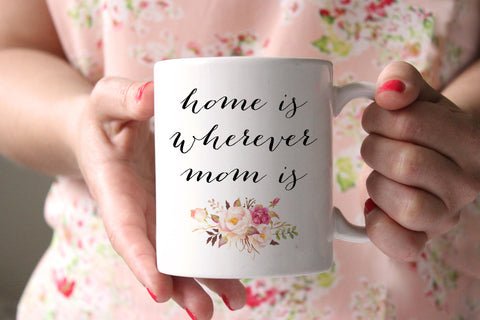 Home Is Wherever Mom Is Coffee Mug