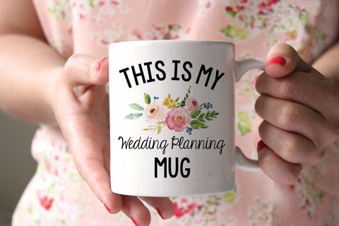 This Is My Wedding Planning Mug Coffee Mug