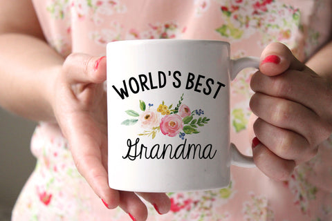 World's Best Grandma Coffee Mug