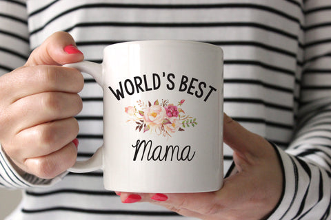 World's Best Mama Coffee Mug