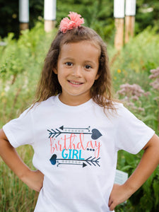 Birthday Girl Shirt with Arrows