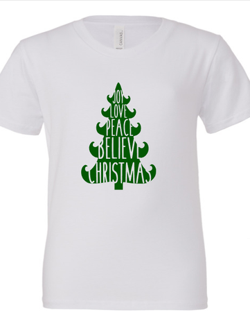 Youth Christmas Tree Shirt