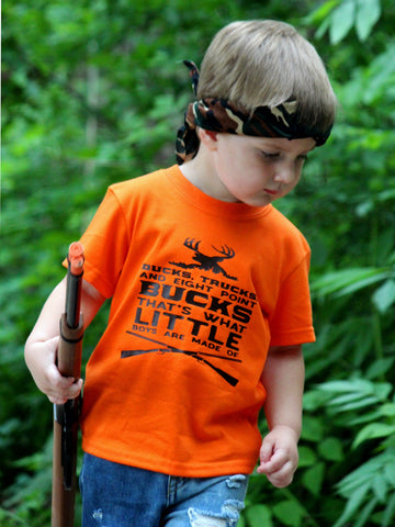 Youth Ducks, Trucks and Big Point Bucks Shirt