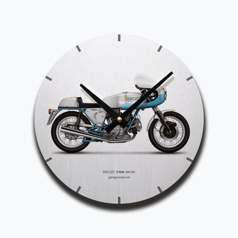 Ducati 750ss (supersport) Motorcycle illustration Wall Clock