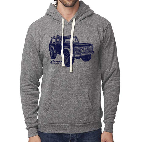 Classic Ford Bronco Pullover Hoodie