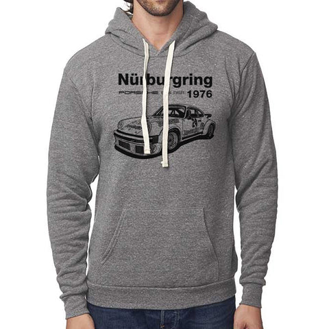 Classic Porsche 1976 934 RSR Nurburgring Pullover Hoodie