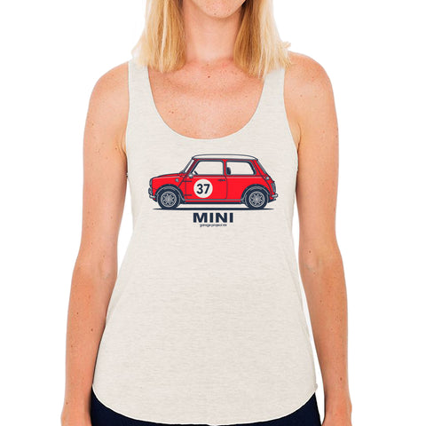 Classic Mini Cooper S Side Women's Tank Top (Junior Size)