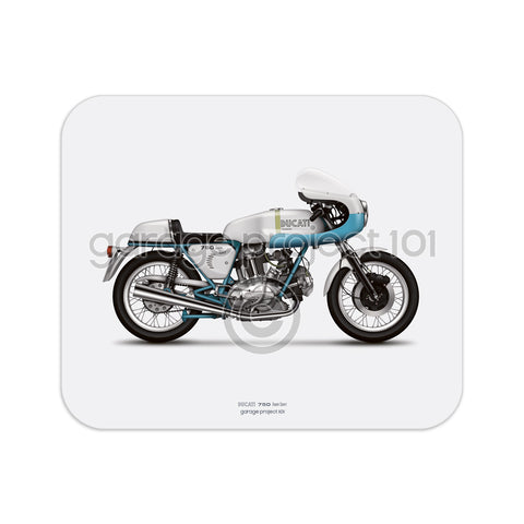 Ducati 750ss (supersport) Motorcycle illustration Mouse
