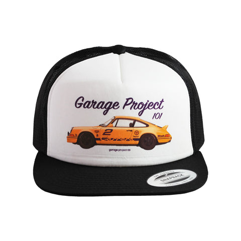 1973 Porsche 911 Carrera RS (GP Edition) Trucker Hat