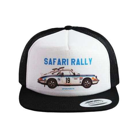 1974 Porsche 911 Carrera RS (Safari Rally) Trucker Hat