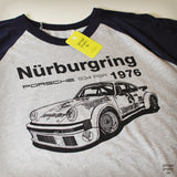 1976 934 RSR Nurburgring Men's 3/4 Sleeve Baseball Shirt