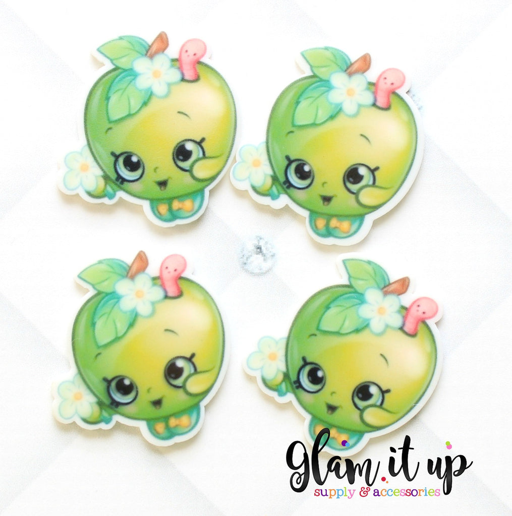 Shopkin Bow Center - Apple Blossom