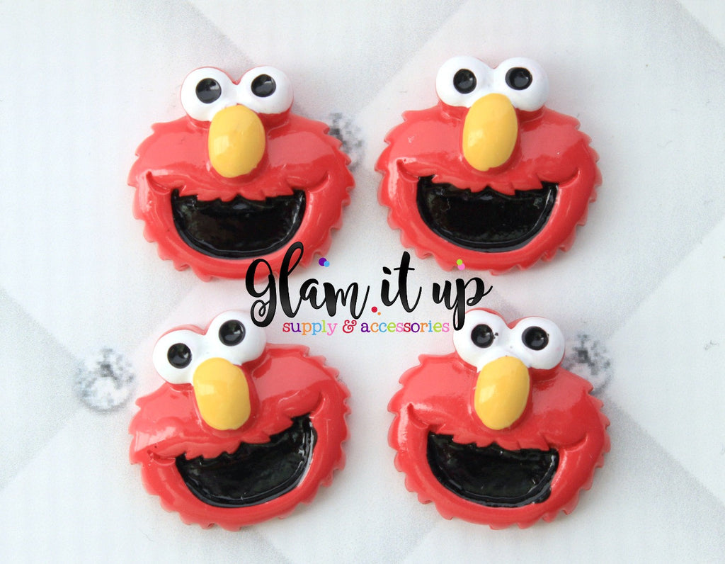 Elmo Hair Bow Center