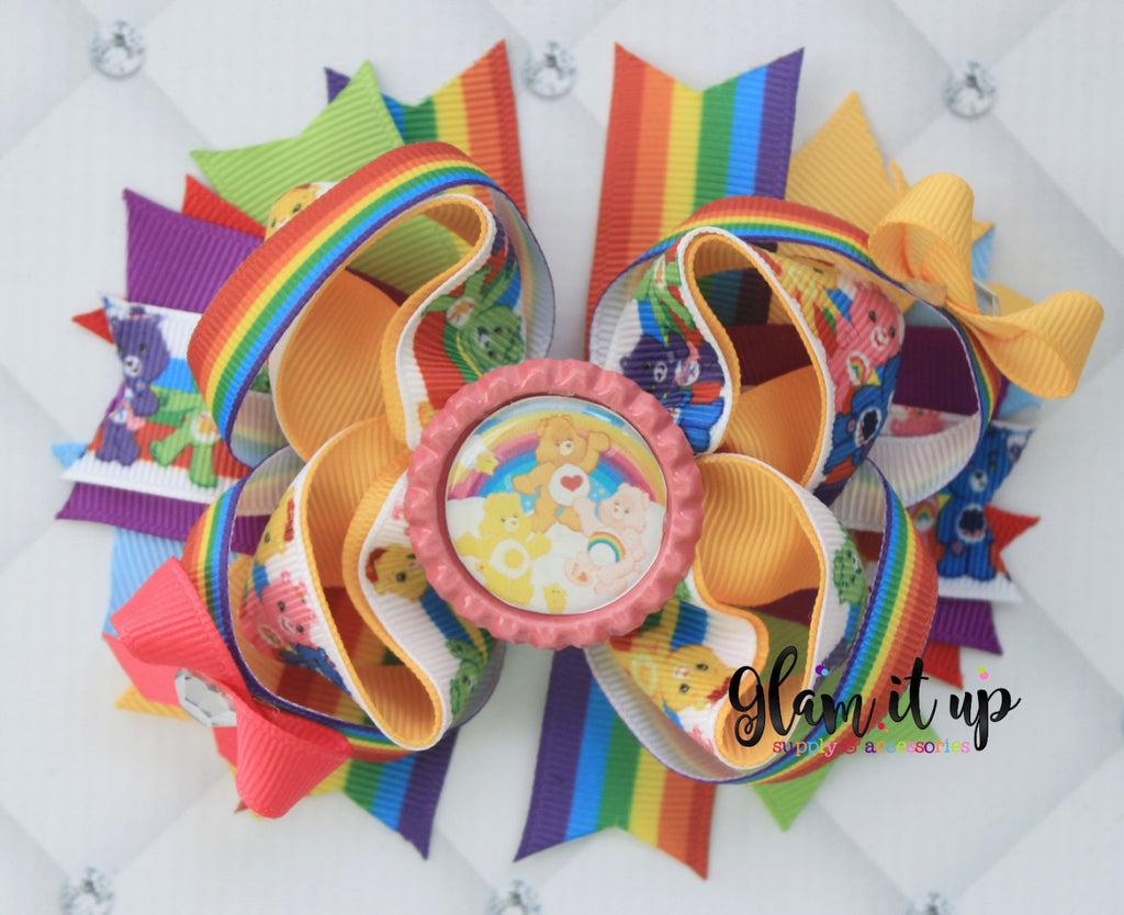 Care Bear Hair Bow