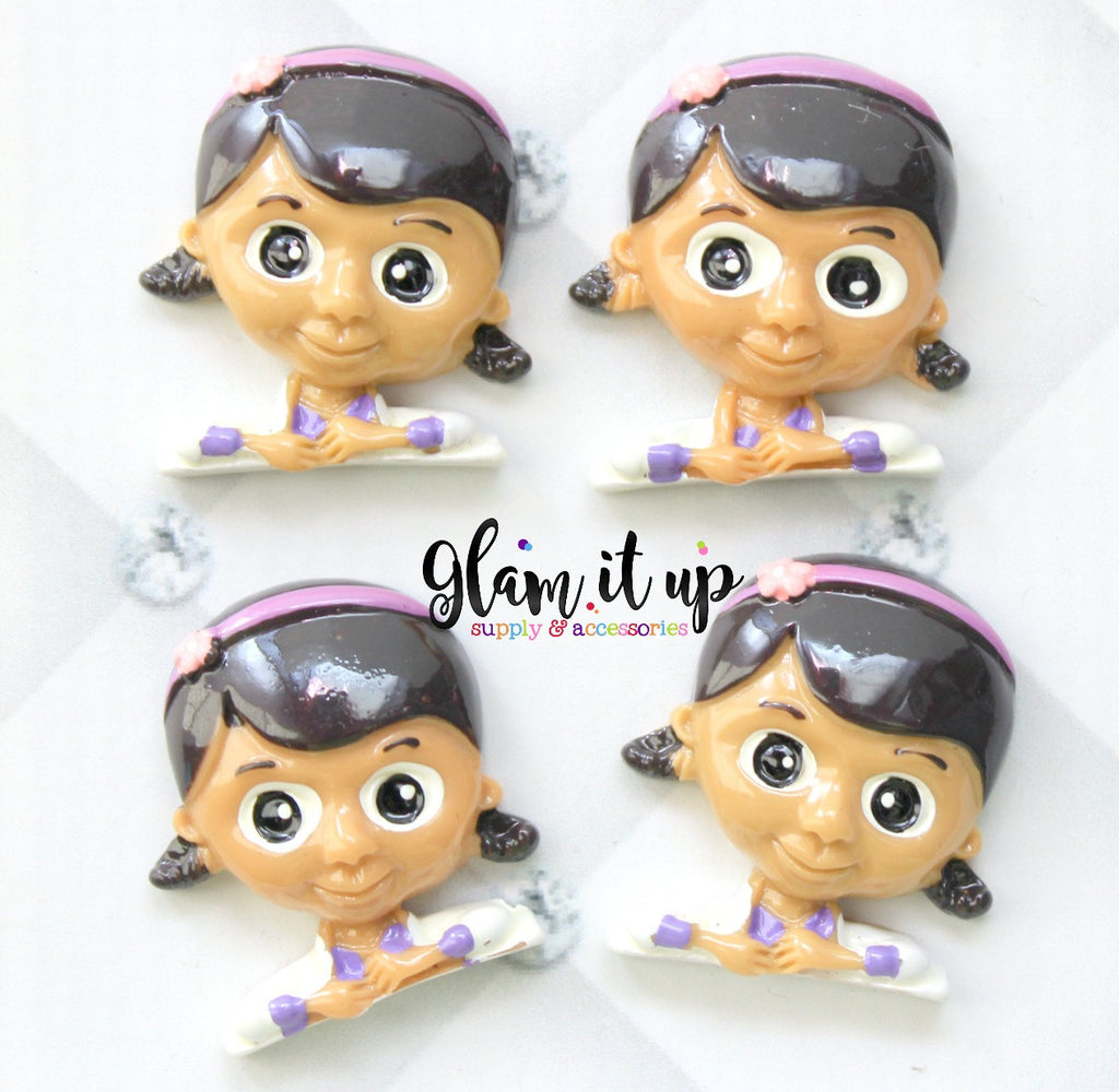 Doc McStuffins Bow Center