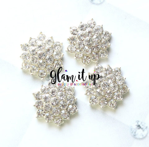 Star Rhinestone 18mm Flatback