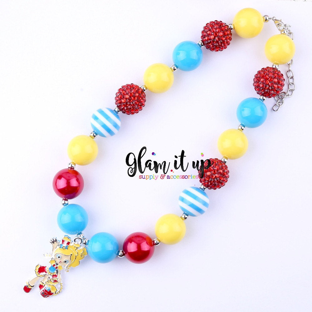 Shopkin Chunky Necklace - Popette