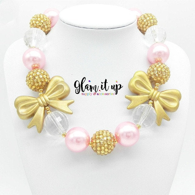 First Birthday Necklace - Chunky Necklace