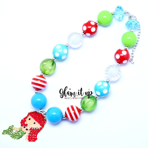 Ariel Mermaid Chunky Necklace