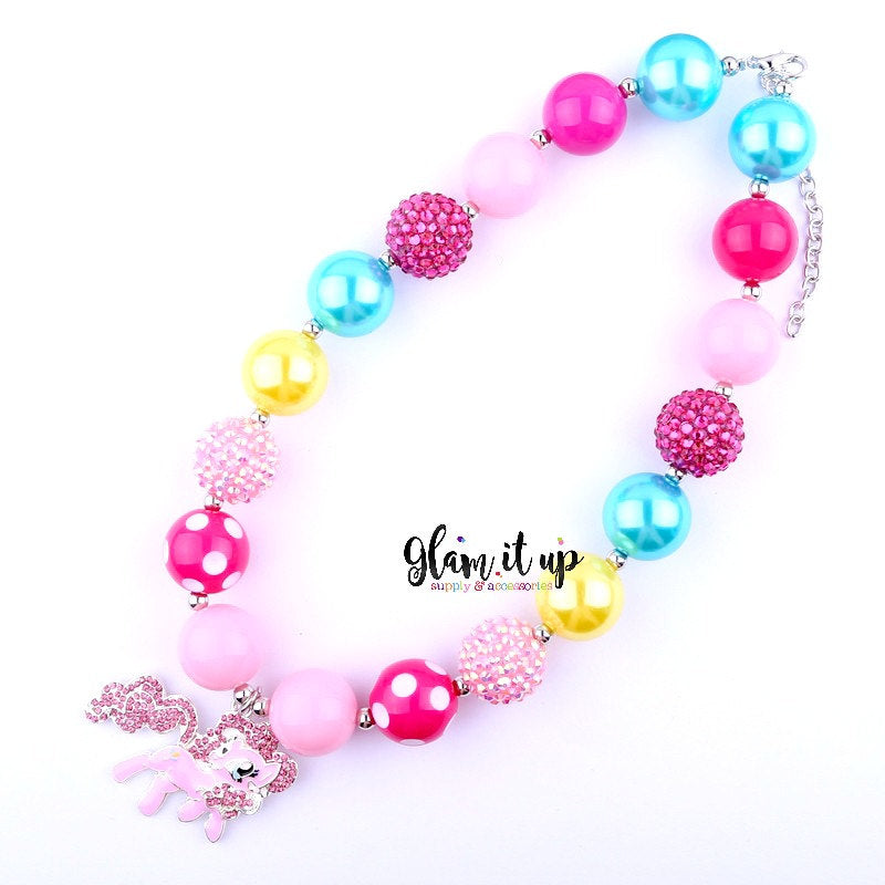 My Little Pony Necklace - Pinkie Pie MLP